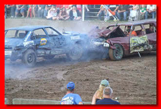 Hemlock Fair Demolition Derby