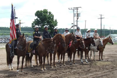 Mounted Police Competition