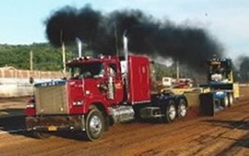 super farm stock and outlaw pulling series semi trucks hemlock fair. Black Bedroom Furniture Sets. Home Design Ideas